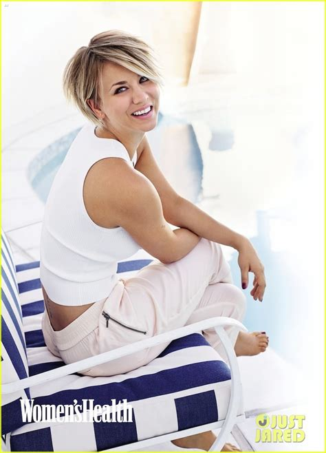 why kaley cuoco cut her hair full sized photo of kaley cuoco womens health september