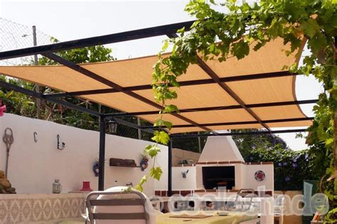 gazebo or pergola in spain shade sails spain by coolashade
