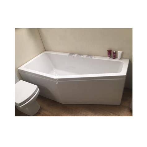 space saver shower bath carron quantum space saver 1700 5mm bath one stop bathrooms