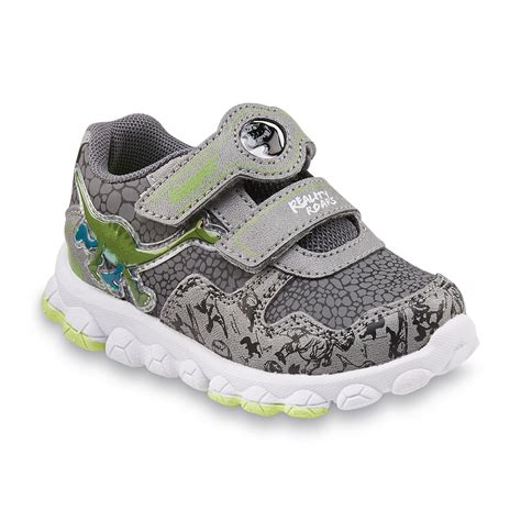 gray light up shoes disney toddler boy s the dinosaur gray light up