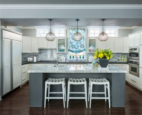 kitchen island color ideas gray grey kitchen island