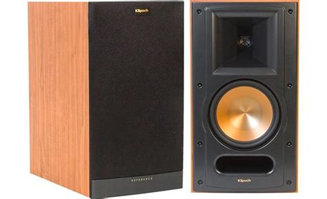 klipsch reference rb 61 ii cherry bookshelf speakers at