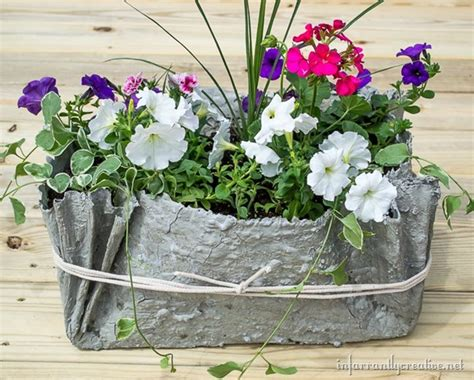 Fabric Planters by Drop Cloth And Cement Planters Infarrantly Creative