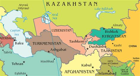 tajikistan map tajikistan map capital dushanbe