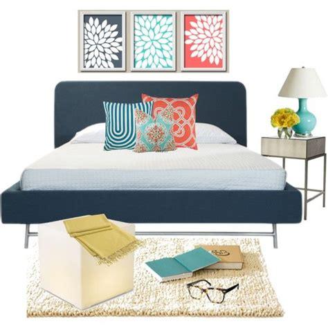 coral aqua bedroom coral aqua and navy bedroom decor home sweet home pinterest