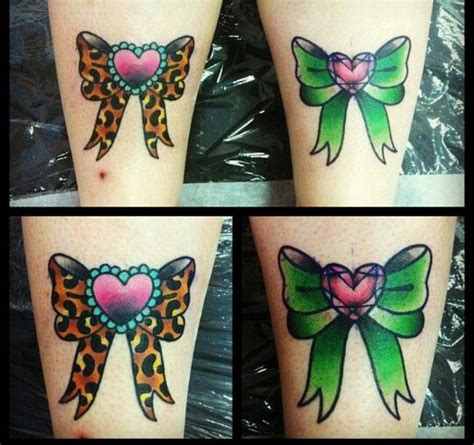 leopard print bow tattoo designs the leopard print bow cool ink the o