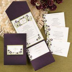 aubergine pocketfold wedding invitations 1000 images about purple eggplant raisin wedding