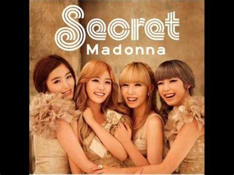 secret by we the mp3 secret 05 madonna original korean ver mp3 dl