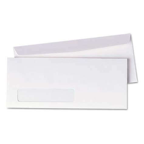 Business Letter Format For Window Envelopes Window Envelope 10 4 1 8 X 9 1 2 White 500 Box Webofficemart