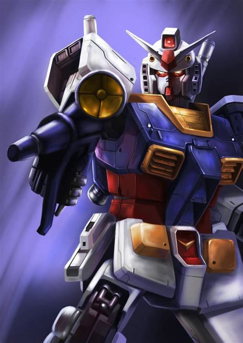 Hanger Anime Gundam Rx78 gundam rx 78 by yuji l on deviantart