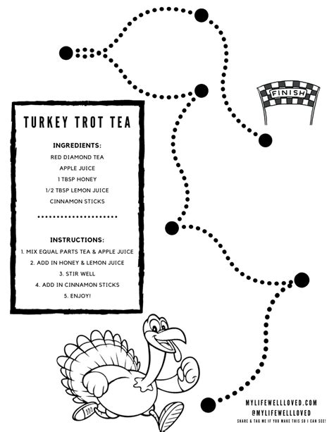 Tea Recipe for Kids + Thanksgiving Ideas - My Life Well Loved