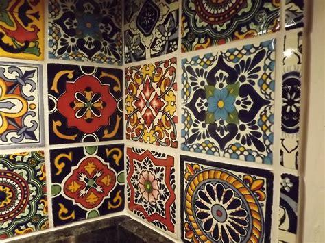 dusty coyote mexican tile kitchen backsplash diy