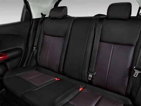 nissan juke interior back seat image 2016 nissan juke 5dr wagon cvt sl fwd rear seats
