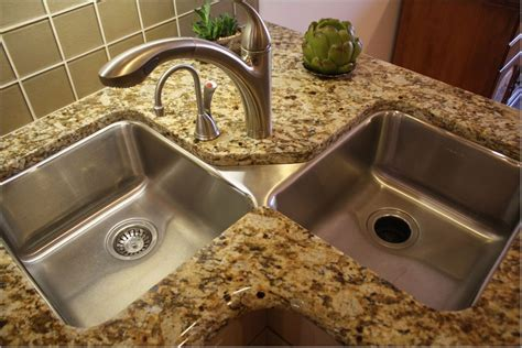 Corner Undermount Kitchen Sink Interior Bathtub Installation Vintage Refrigerator Parts Home Decorating