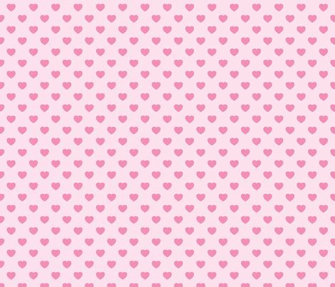 heart pattern pink pink heart pattern fabric alenkas spoonflower