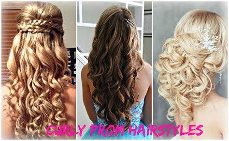 Curly Hairstyles For by Prom Hairstyles For Curly Hair Fade Haircut