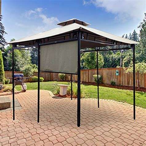 sunshade awning gazebo garden winds sunshade gazebo replacement canopy riplock