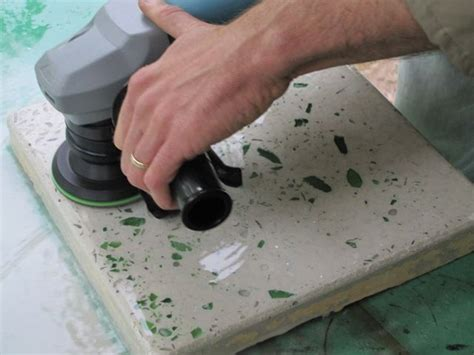 Glass Cement Countertops by Concrete Bottle Glass Counter Tutorial Diy Concrete Projects