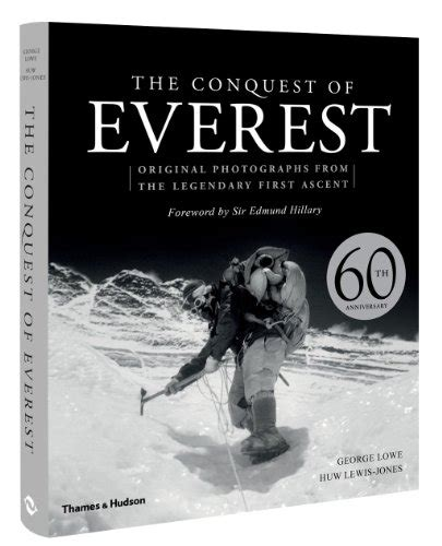 libro the conquest of the the conquest of everest original photographs from the legendary first ascent fotografia