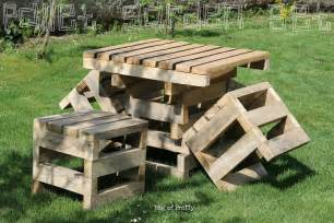 bag of pretty surprise surprise pallet garden furniture