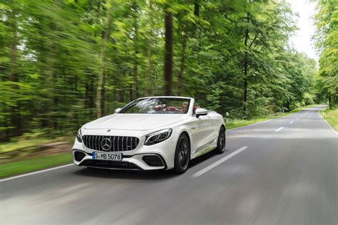 Mercedes Amg S Class 2018 Mercedes S Class Coupe Cabriolet Get Refreshed