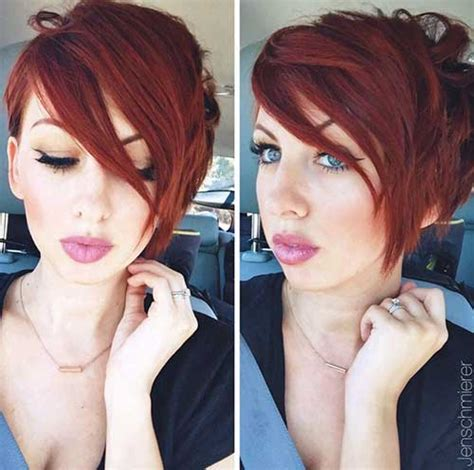 20 Best Red Pixie Hair   Short Hairstyles 2016   2017