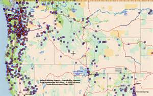 map of bigfoot sightings in the united states columbiana ohio location greenville ohio location
