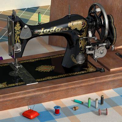 lada sewing machine 3d sewing machine model