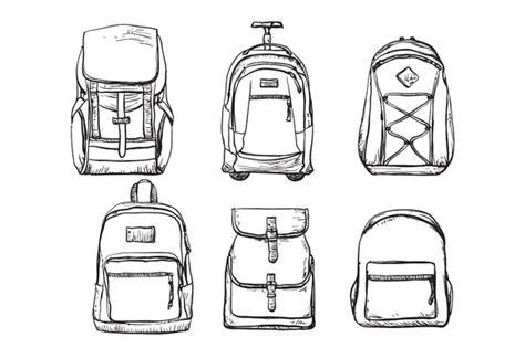 Backpack Mockup Free 187 Designtube Creative Design Content Backpack Design Template