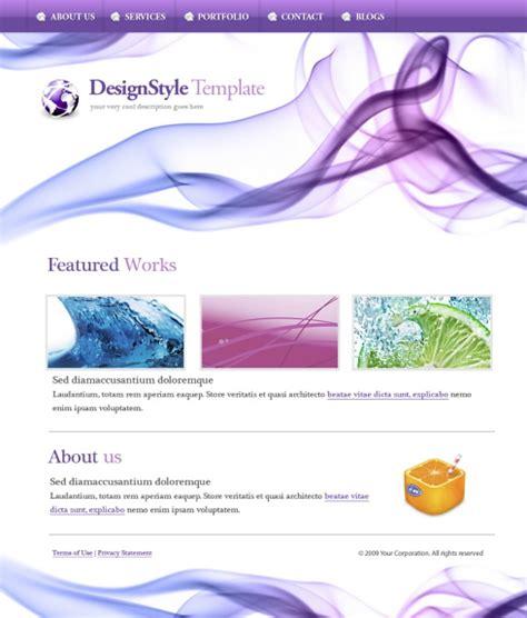Digitalart Website Template 5574 Abstract Website Templates Dreamtemplate Subscription Website Template