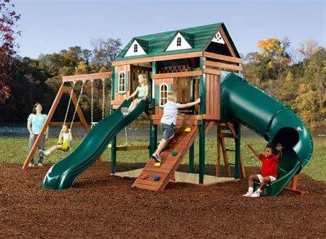 swing sets with installation outdoor playsets outdoor playset sales installation