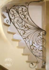 Fer Forge Stairs Design Interior Balustrades Wrought Iron Stairways Railings For Stairways