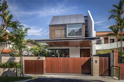 awesome semi detached far sight house in singapore by