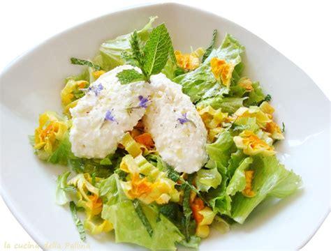 insalata di fiori di zucca insalata con fiori di zucchina la cucina della pallina