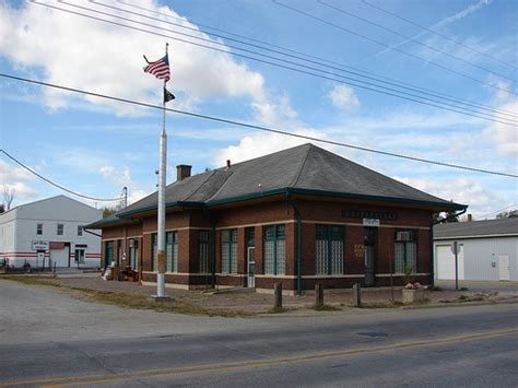 chicago burlington quincy railroad depot centerville
