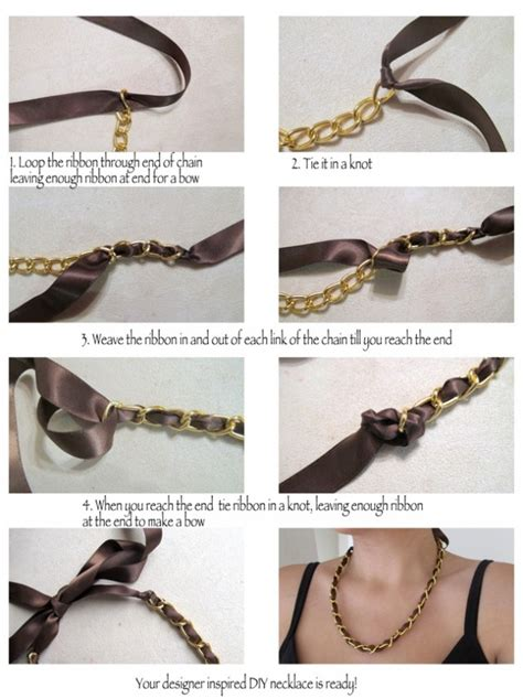 diy chain jewelry 12 stylish diy necklaces with statement chains pretty designs
