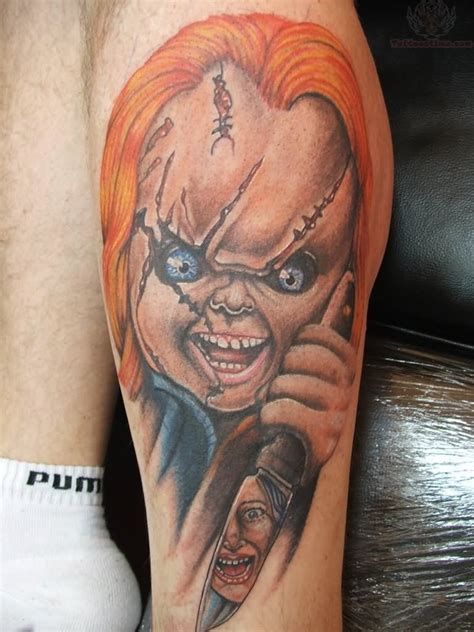 chucky tattoos chucky images designs