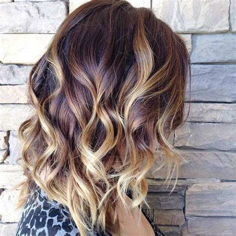 hairstyles blonde n brown 47 hot long bob haircuts and hair color ideas bobs