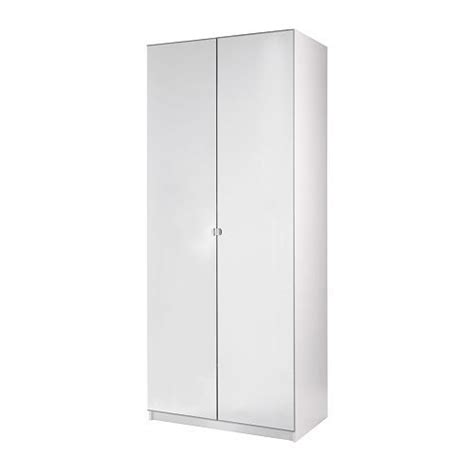 Pax 2 Door Wardrobe by Pax Wardrobe With 2 Doors Vikedal White 100x60x201 Cm