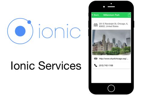 ionic tutorial resources getting started with ionic services tbn