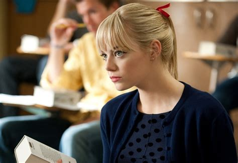 emma stone gwen stacy this little life of mine movie blog the amazing spiderman