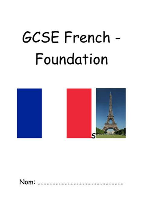 aqa gcse french foundation aqa spanish new spec gcse pupil booklet higher by uk teaching resources tes