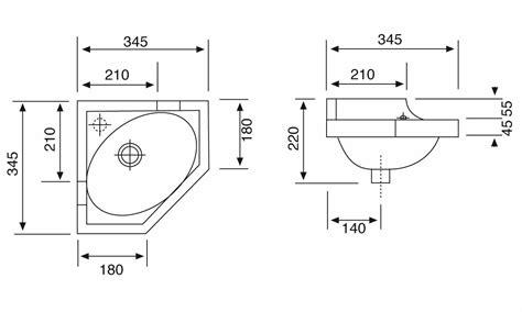 lavello ad angolo dimensioni lavabo ad angolo cesabo vendita italiaboxdoccia