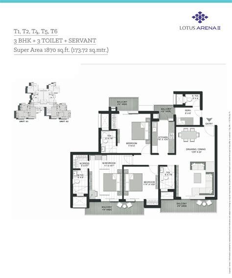 arena floor plans 3 bhk flats in noida 4 bhk flats in noida