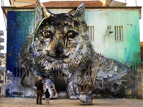 Imagenes Artisticas Quienes Las Producen | artur bordalo creates art from trash to remind us all