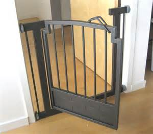doggie gate indoor gate safety pet fence metal 32 quot h hallway or