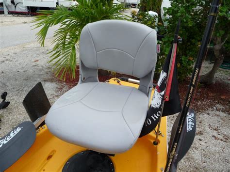 hobie kayak seat modifications hobie forums view topic pro angler buddy seat