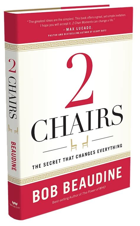 2 chairs the secret that changes everything books chris goins two chairs