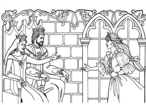 princess queen coloring pages king and queen coloring pages family story between