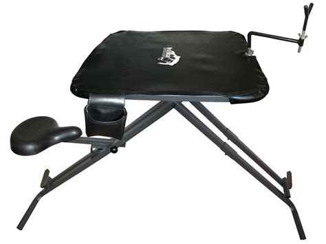 folding shooting bench do all iron bear portable shooting bench steel black